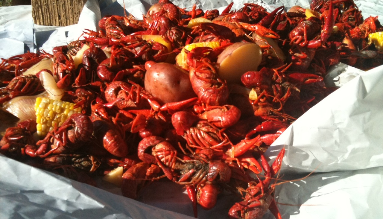 Calories in Crawfish